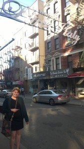 Little Italy, where I ate some stellar cannoli and love everything.